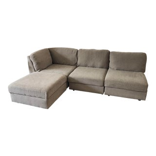 Gray 4-Pc Sectional Sofa