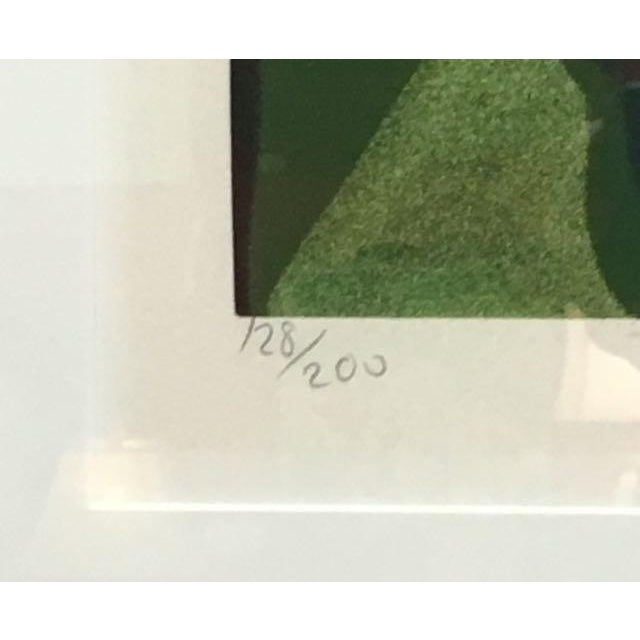 "1981 Serigraph ""Cattleya Orchids"" by Lowell Nesbitt For Sale In Tampa - Image 6 of 7"