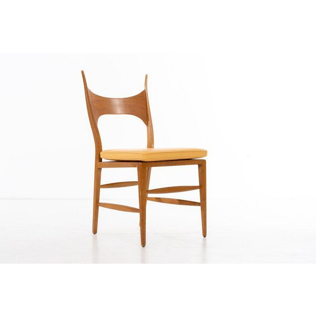 Mid-Century Modern Edward Wormley Model 5580 Side Chair For Sale - Image 3 of 10