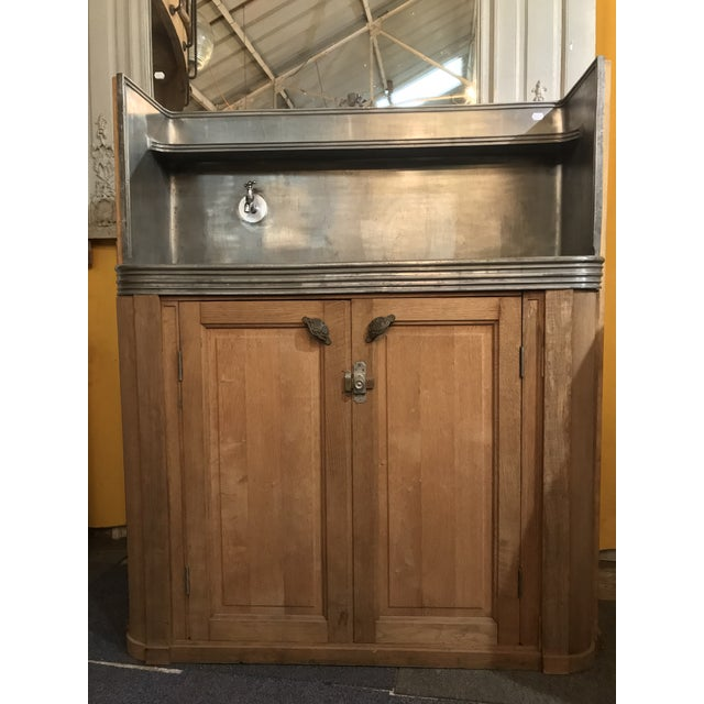 Antique French Butler's Pantry Bar For Sale - Image 9 of 10