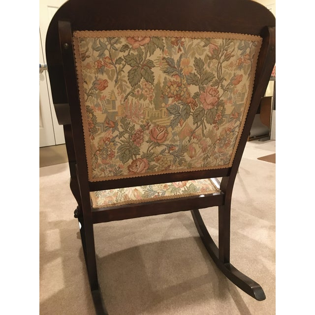 20th Century Antique Rocking Chair For Sale - Image 4 of 7