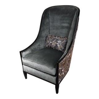 Kravet Furniture Haddam Chair Showroom Sample For Sale