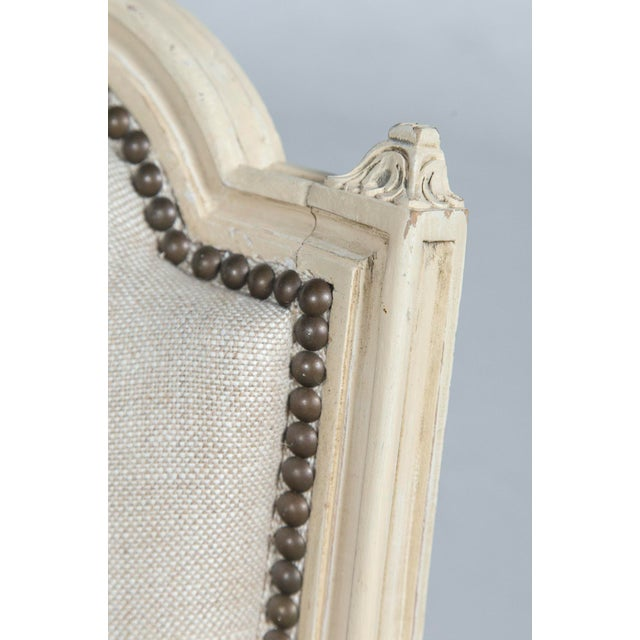 French Louis XVI Style Bergeres - a Pair - Image 8 of 10