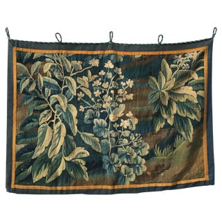 18th Century French Tapestry Fragment For Sale