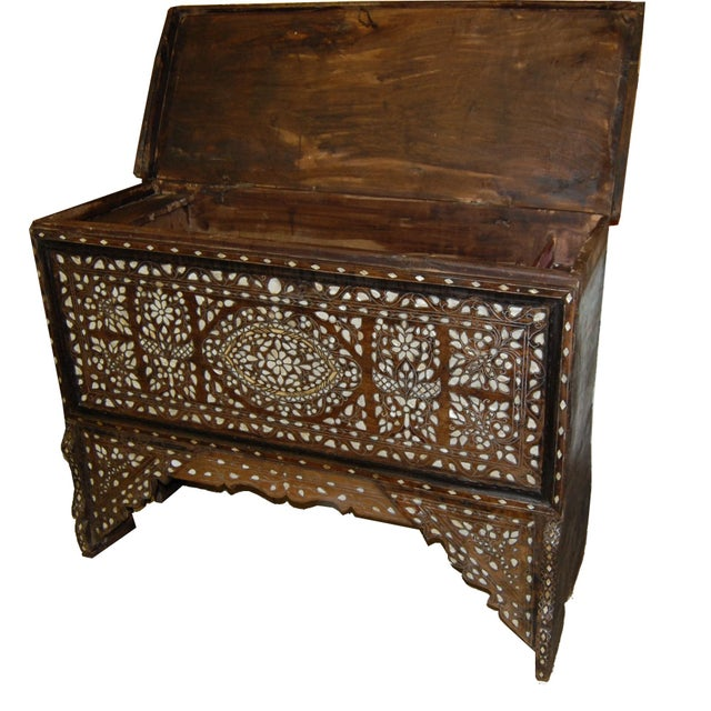Vintage Syrian Bridal Chest - Image 3 of 8