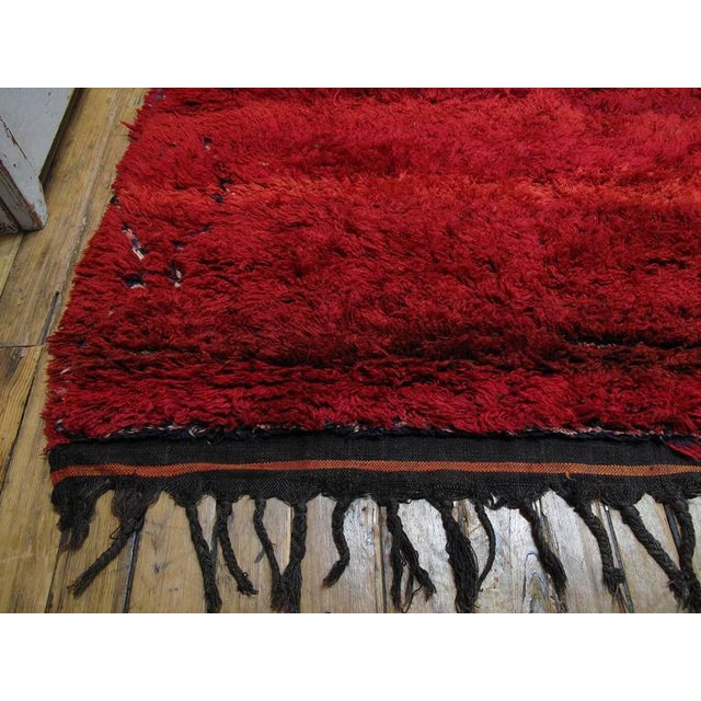 """Firebird"", Zayan Moroccan Berber Carpet For Sale - Image 4 of 10"