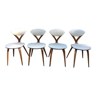 Norman Cherner for Plycraft Bentwood Side Chairs - Set of 4