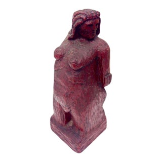 Nude Woman Wooden Figure For Sale