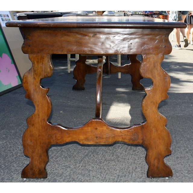 Mission Style Walnut Desk - Image 3 of 3