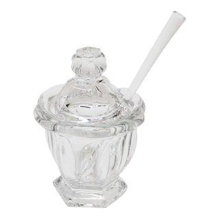 Baccarat Crystal Missouri Mustard Jar For Sale
