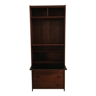 1960's Horner Manufacting Co. Bookcase & Secretary Desk