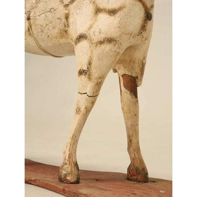 Antique Child's Papier Mâché Horse - Image 7 of 10