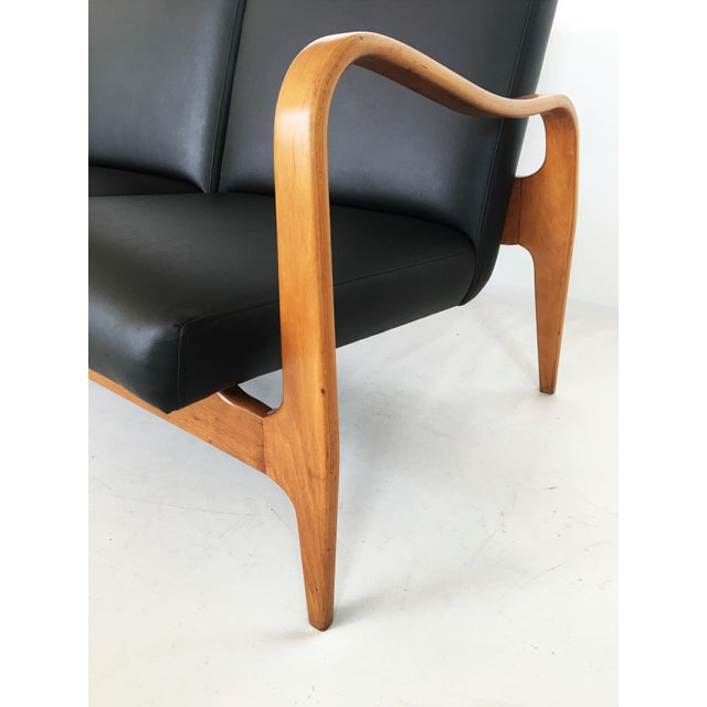 Pair of Modernist Thonet Bentwood Sofas For Sale - Image 11 of 13