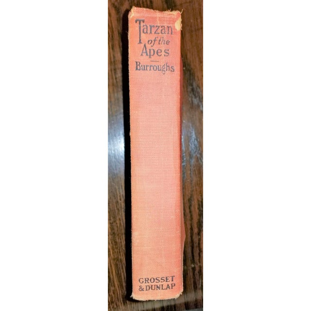 Tarzan of the Apes by Edgar Rice Burroughs Grosset 1st Edition For Sale - Image 9 of 10