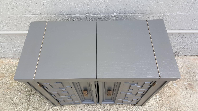 Brutalist Flip Top Bar Cabinet   Image 6 Of 9