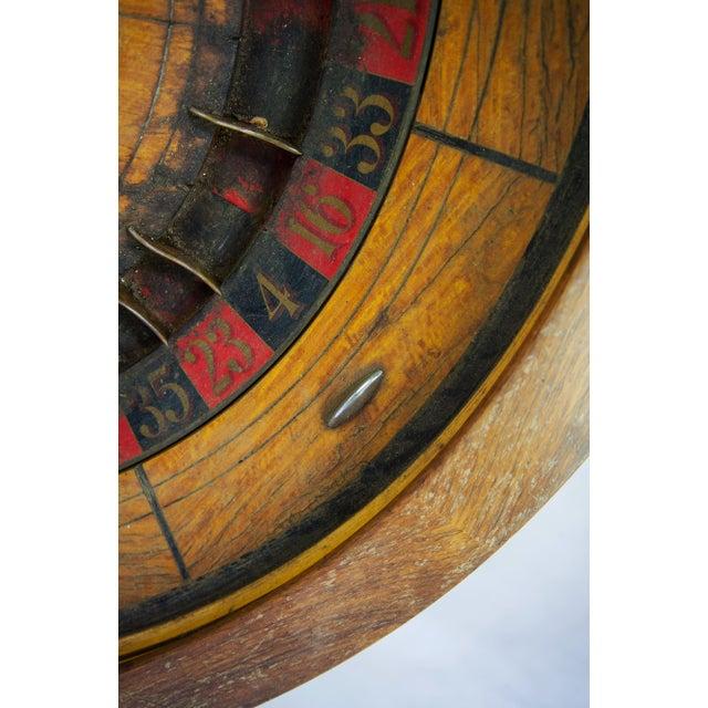 Large Antique Vintage Roulette Wheel - Image 9 of 9