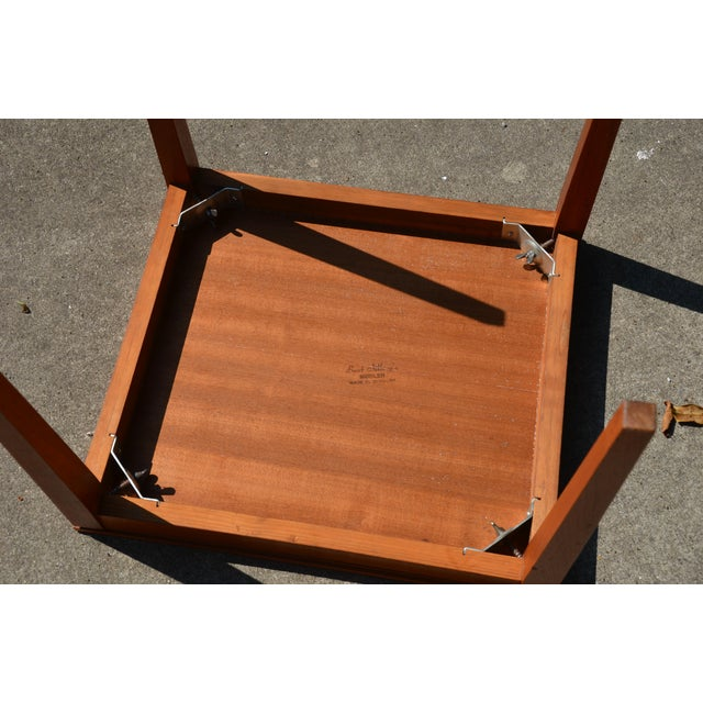 20th Century Danish Modern Bent Silberg Mobler Side Table For Sale In Richmond - Image 6 of 8