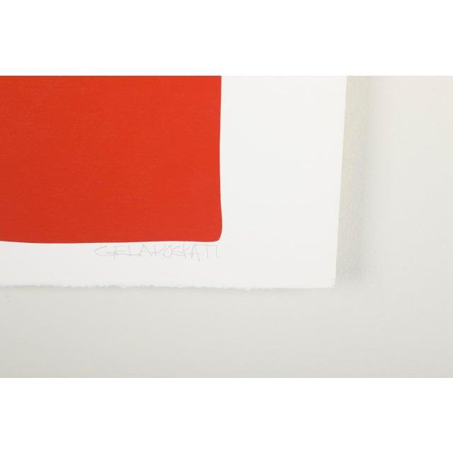 Original Silkscreen by C. Daniel Gelakoska - Desert Sunset, 1977 For Sale - Image 6 of 7