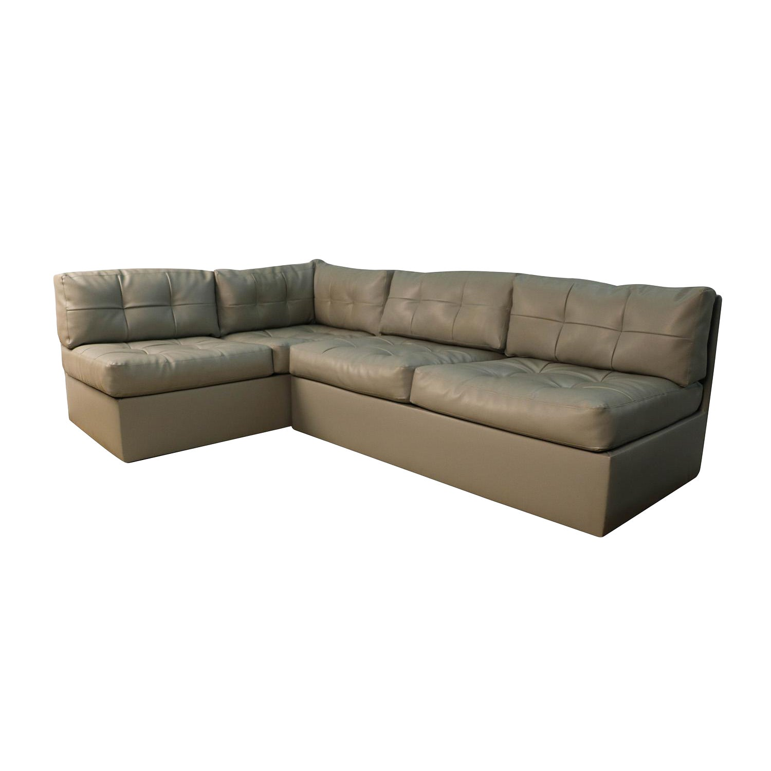 Mid Century Sectional Sofa by Preview Vladimir Kagan Style