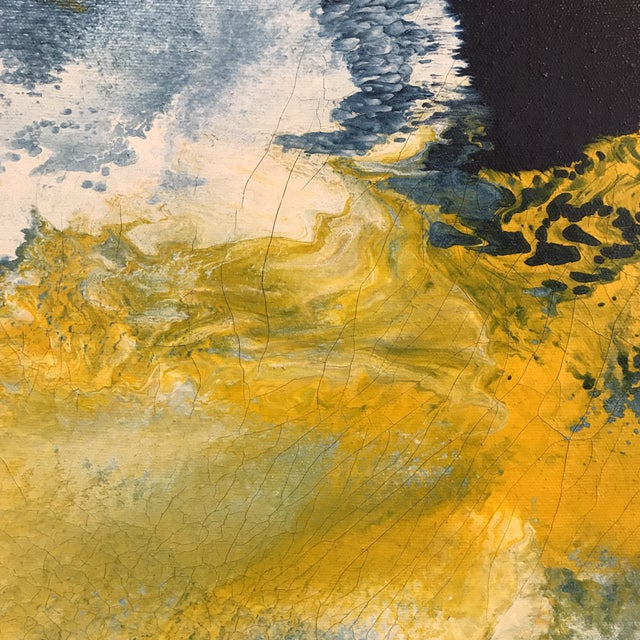 Mid-Century Abstract Expressionist Painting - Image 5 of 10