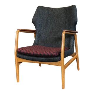 Bender Madsen Danish Modern Low Back Lounge Chair For Sale