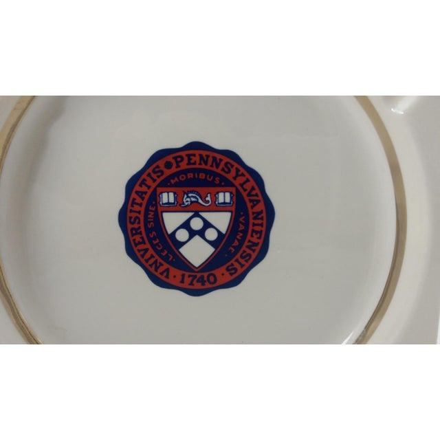 Vintage University of Pennsylvania Ceramic Ashtray - Catchall - Coin Dish - Image 3 of 6