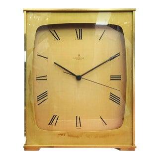 Vintage Mantel Clock in Brass