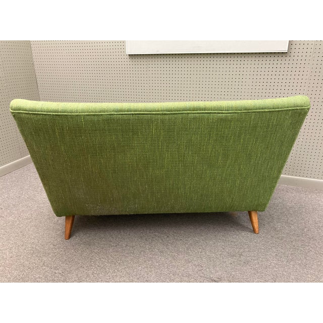 Knoll 1950s Jens Risom for Knoll Settee For Sale - Image 4 of 7