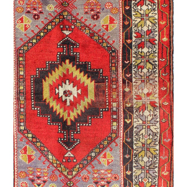 Keivan Woven Arts, L11-1001,, 1920s Antique Turkish Oushak Rug - 3′7″ × 4′10″ For Sale - Image 4 of 7