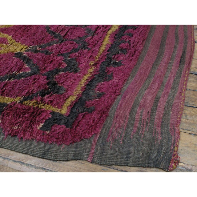 Ait Bou Ichaouen Moroccan Berber Carpet For Sale In New York - Image 6 of 10