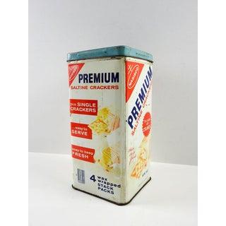 Vintage Nabisco Crackers Storage Tin Preview