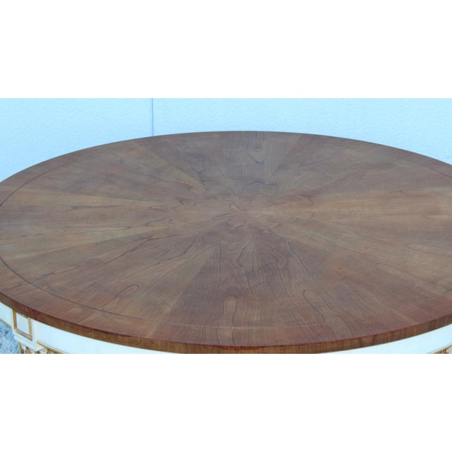 Baker Furniture Company 1950s Giltwood Coffee Table by Baker For Sale - Image 4 of 11