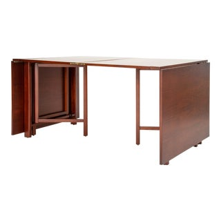 """Maria"" Folding Gate-Leg Dining Table by Bruno Mathsson For Sale"