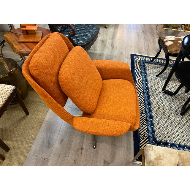 Mid-Century Womb Chair With Ottoman From Stendig Furniture For Sale In New York - Image 6 of 11