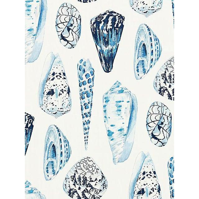 Sample, Scalamandre Coquina, Porcelain Wallpaper For Sale