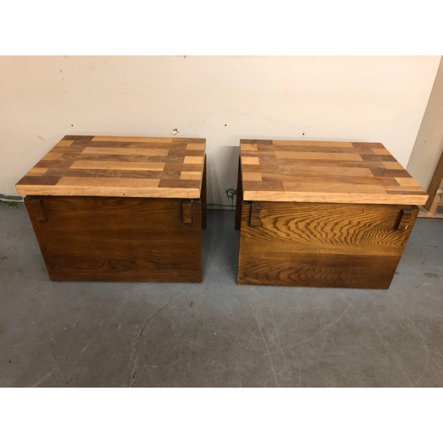 1970s 1970s Mid Century Modern Lane End Tables - a Pair For Sale - Image 5 of 9