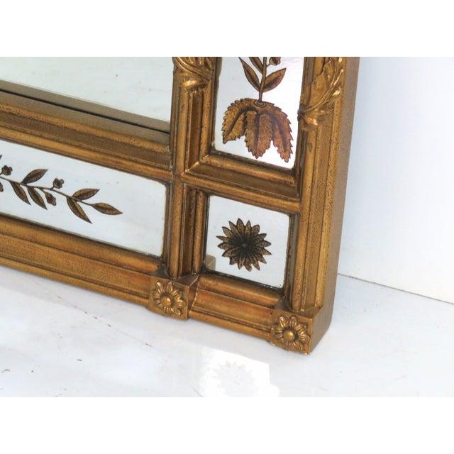 Gilt Frame Églomisé Mirror - Image 2 of 3