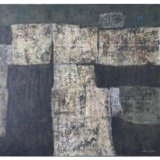 Stanley Bate, Santa Marta Painting, 1970 For Sale