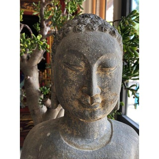 Chinese Stone Carved Buddha Sculpture Preview