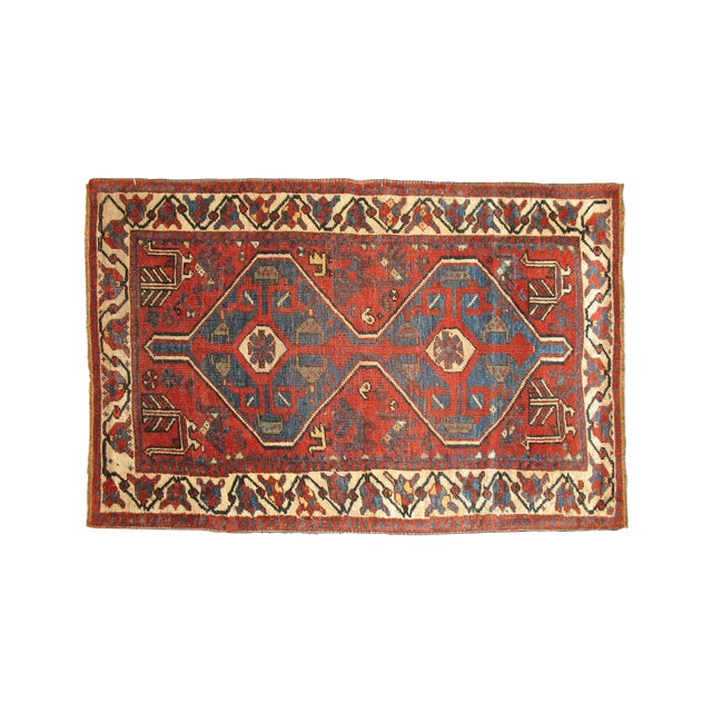 Tribal Persian Rug -- 2'8'' X 4'5'' - Image 1 of 3