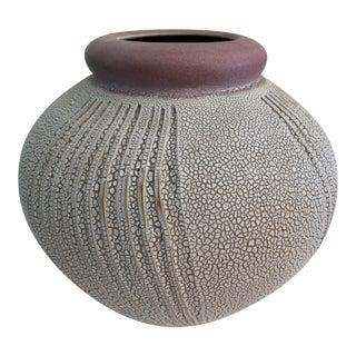 Daric Harvie Large Ceramic Pottery Pot For Sale
