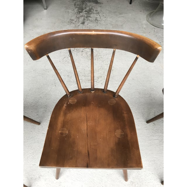 Brown S/3 Paul McCobb Planner Group Dining Chairs For Sale - Image 8 of 13