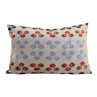 Silk Velvet Pillow Cover & Insert For Sale