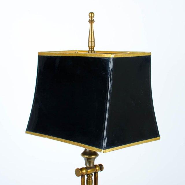 Ethan Allen Articulating Brass Lamp - Image 8 of 11