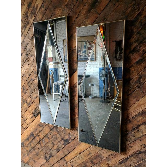 Hollywood Regency Vintage Mirror - Image 4 of 6