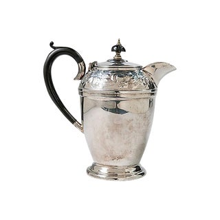 English Silverplate Coffee Pot For Sale