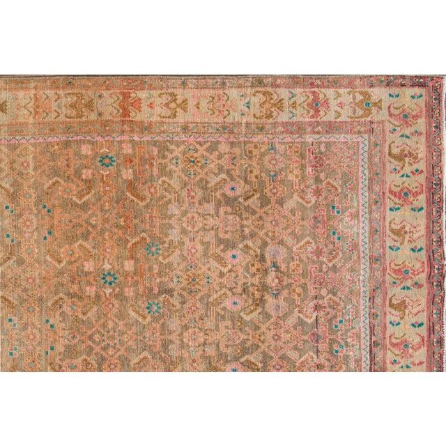 "Apadana - Vintage Persian Rug, 4'8"" x 12'6"" For Sale - Image 4 of 6"