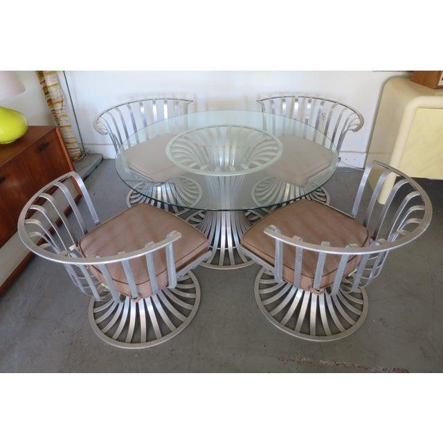 Mid-Century Modern Russell Woodard Aluminum Patio Furniture - A Set - Image 2 of 9