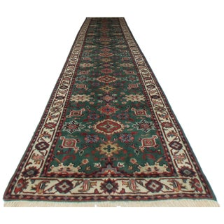 RugsinDallas Persian Style Wool Runner - 2′8″ × 13′8″ For Sale