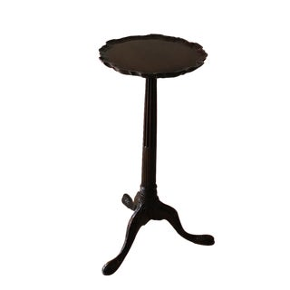 Late 18th Century Vintage English Georgian Mahogany Wine Table For Sale